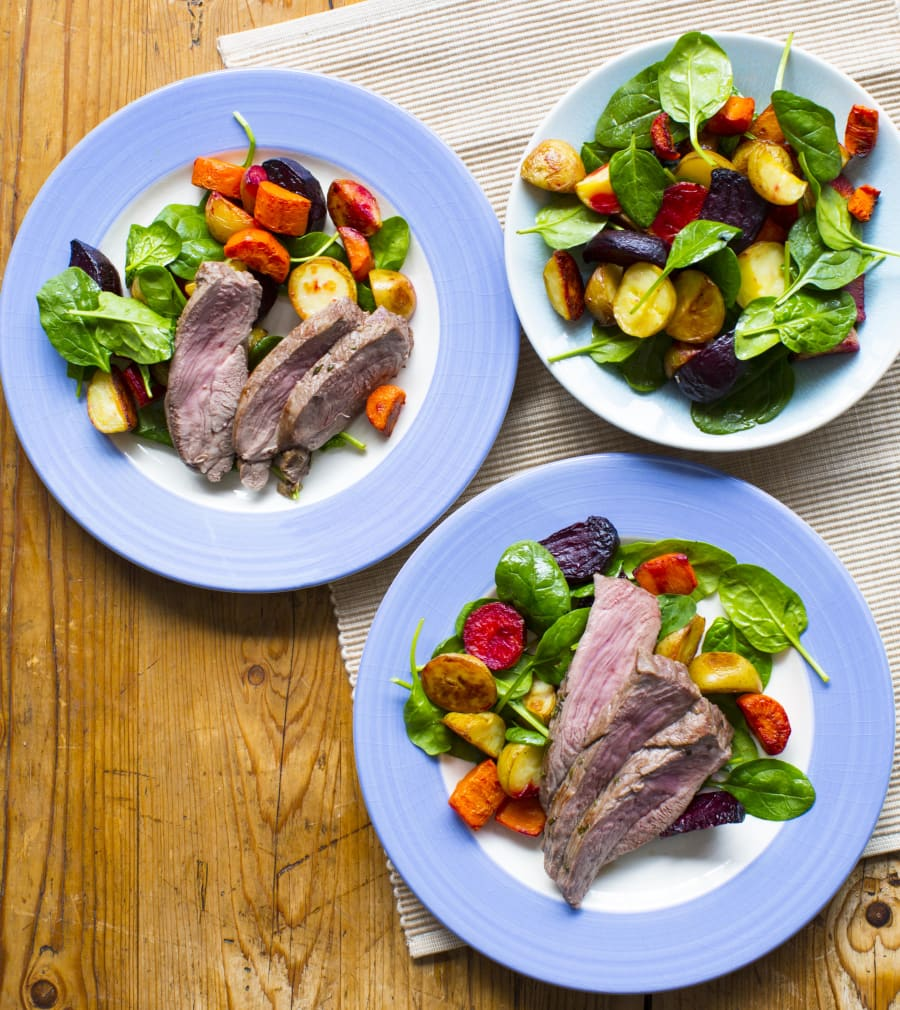This easy lamb dish makes perfect leftovers for