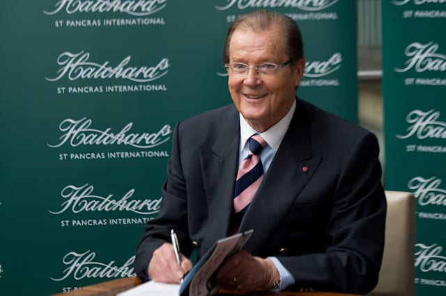 UK - 'Roger Moore' Book Signing in London
