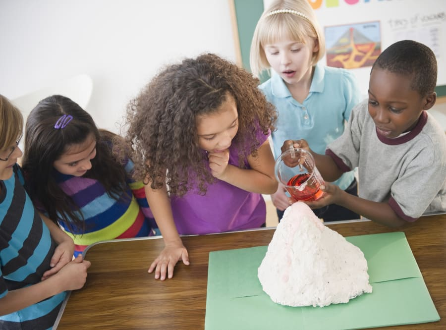 Remember how fun model volcanoes were as a