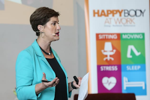 Anna-Louise Bouvier recently hosted an ABC-led conference on wellbeing