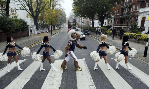 Britain NFL Rams Patriots