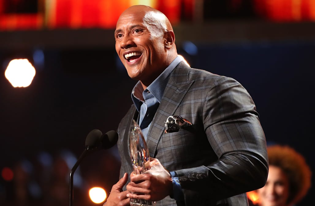 Dwayne 'The Rock' Johnson brings look-alike 15-year-old daughter to People's Choice Awards
