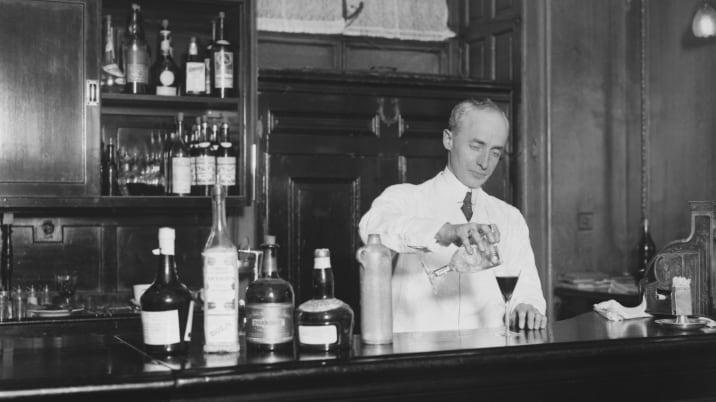 Savoy Hotel Barman