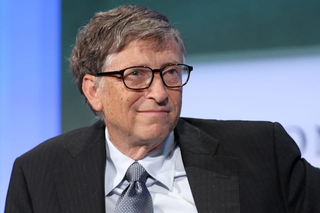 NEW YORK - SEPTEMBER 24: Bill Gates attends the Clinton Global Initiative Annual Meeting at The Shertaon New York Hotel on Septe