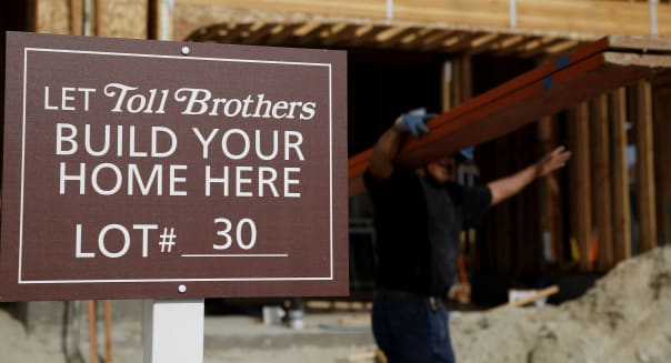 A Toll Brother Housing Development Ahead Of Earnings Figures