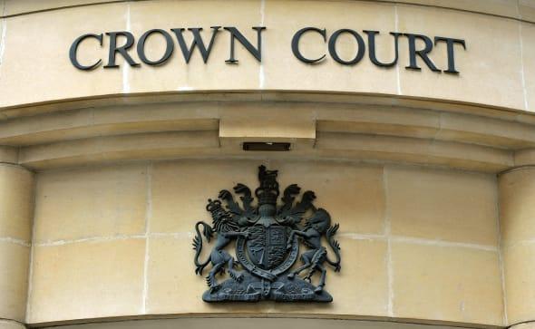 Blackfriars Crown Court stock