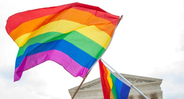 gay pride flags at the u.s....