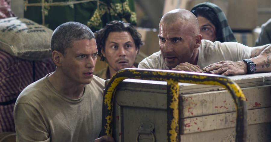 PRISON BREAK:  in PRISON BREAK premiering on FOX. Cr: Didier Baverel /FOX. © 2017 FOX Broadcasting Co.