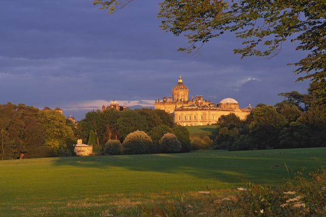 Castle Howard, an 18th-century palace designed by Sir John Vanbrugh, is one of England's most beautiful historic houses.