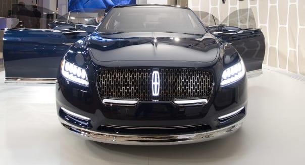 Auto Show Lincoln Continental