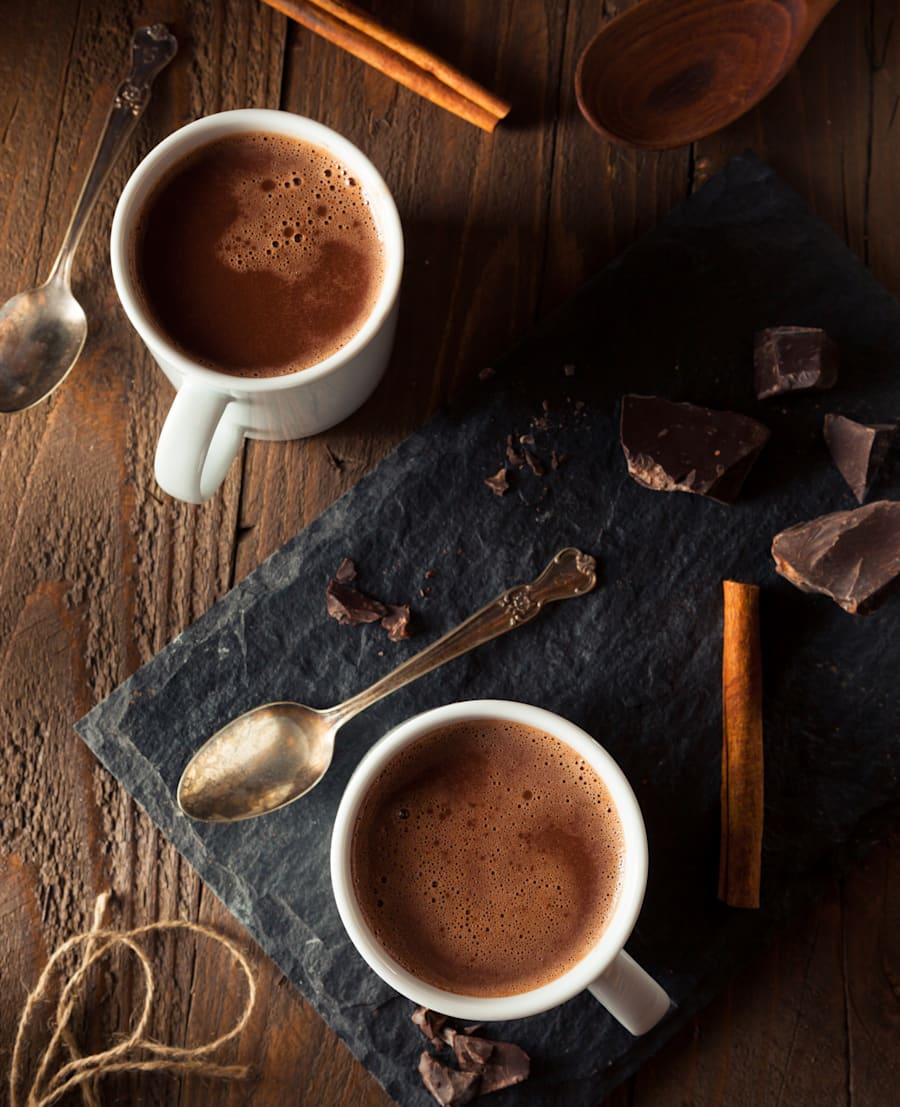 For a sweet treat, swap milk chocolate for dark chocolate or a homemade hot