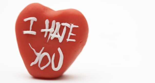 I hate you heartCaption:  Made of clayCreative image #:  73434241License type:  Royalty-freePhotographer:  ballyscanlonCol
