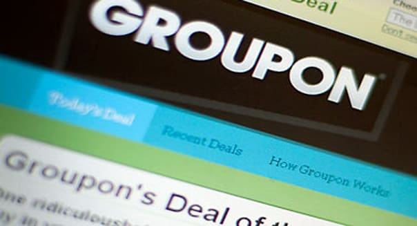 Groupon Website local coupons