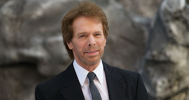 Jerry Bruckheimer at the U.K. Premiere of 'The Lone Ranger' on July 21, 2013