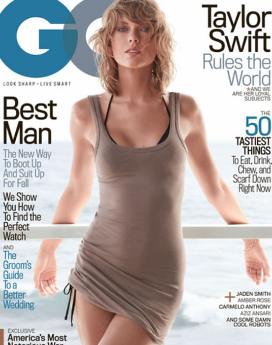 Taylor Swift- Michael Thompson/GQ