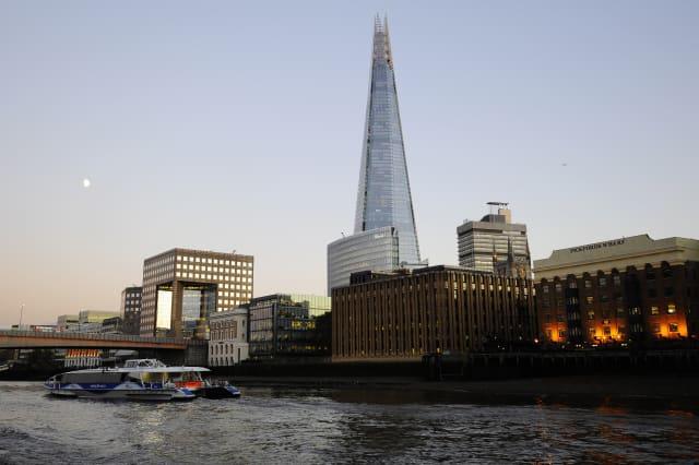 River Thames stock