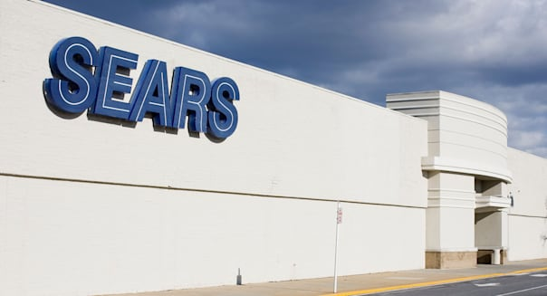 A Sears retail store.