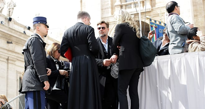 russell crowe pope francis