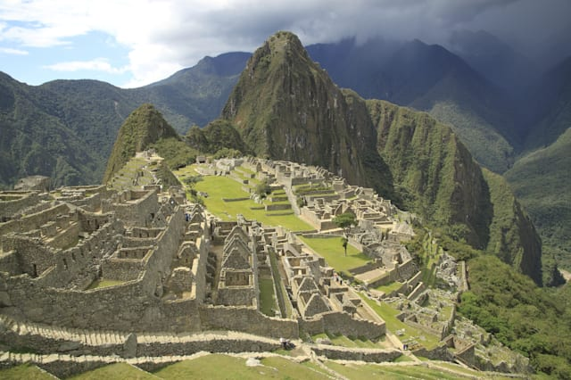 Scenic view of Macchu Picchu, Peru, South America