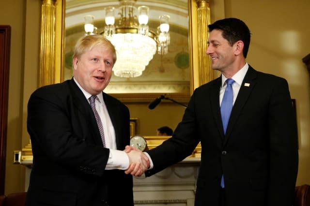 USA-BRITAIN/JOHNSON
