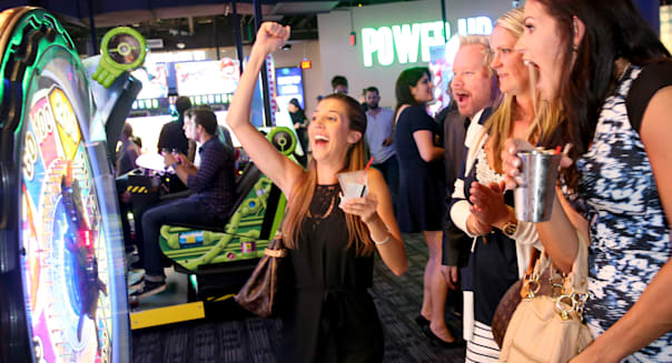 Dave & Buster's Hollywood & Highland Grand Opening