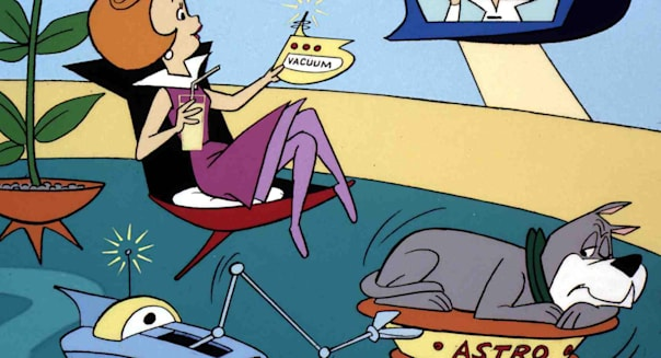 The Jetsons   Jetsons, The   Jane Jetson, George Jetson, Astro *** Local Caption *** 1962  Turner