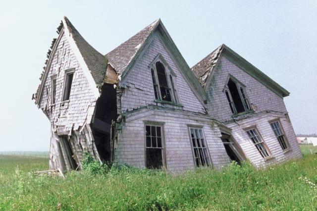 Rundown house , Prince Edward Island , Canada