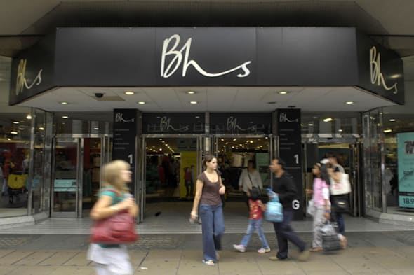 BHS could launch instore food shops