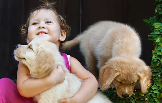 They might be besties, but kids and animals need to be taught boundaries,