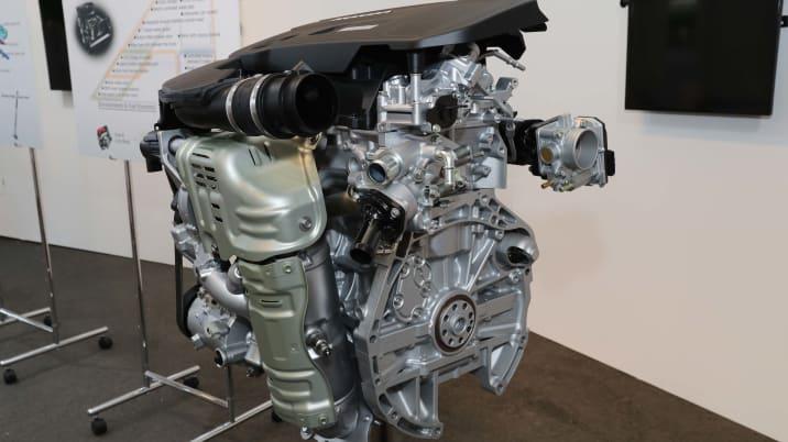 2018 Honda Accord engine