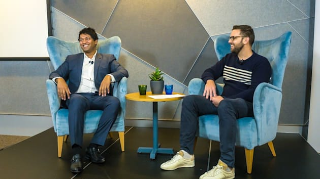 Saroo Brierley is a funny guy, with an incredible story to