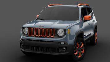 2015 Jeep Renegade Mopar Urban Concept