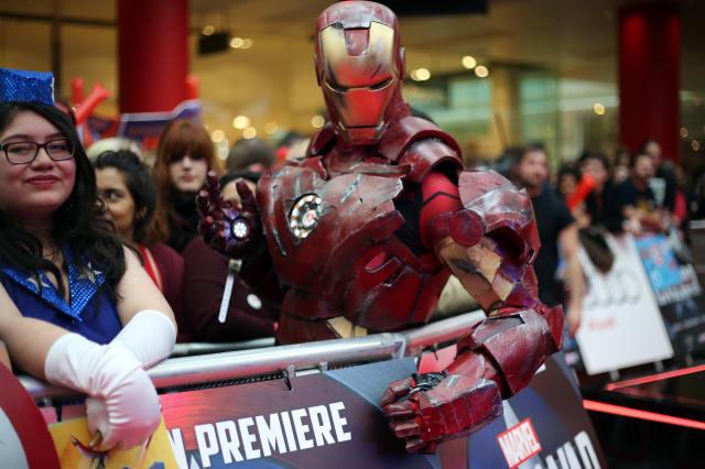 Britain Captain America Civil War Premiere