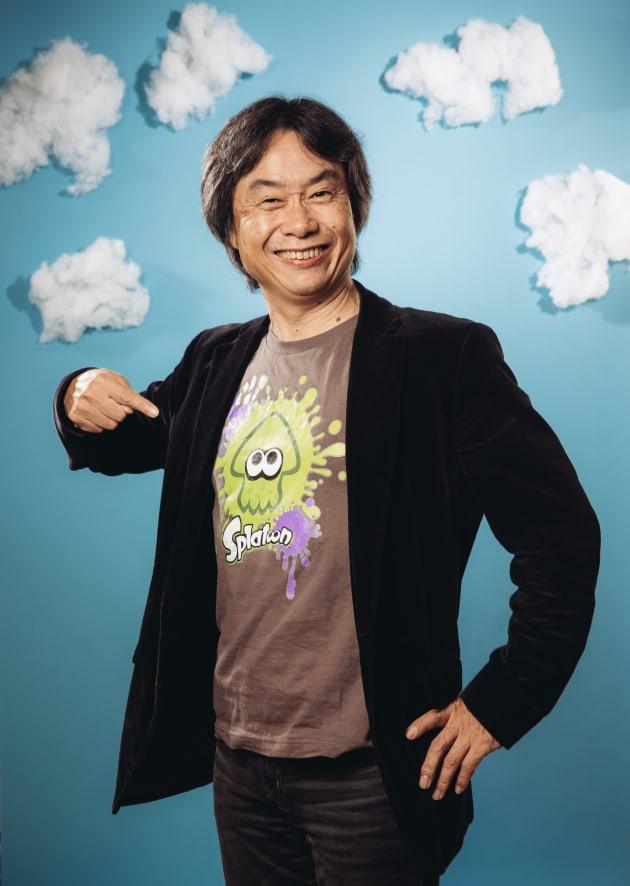 Shigeru Miyamoto Portrait Session