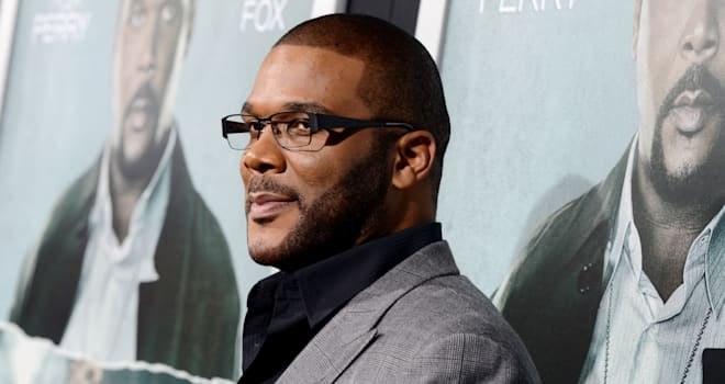 Tyler Perry at the 'Alex Cross' Premiere on October 15, 2012