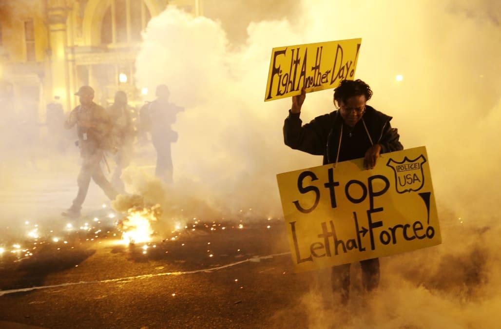 police brutality persuasive speech