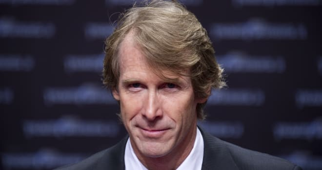 Michael Bay at the European Premiere of 'Transformers 3'