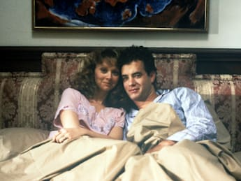 Shelley Long And Tom Hanks In 'The Money Pit'