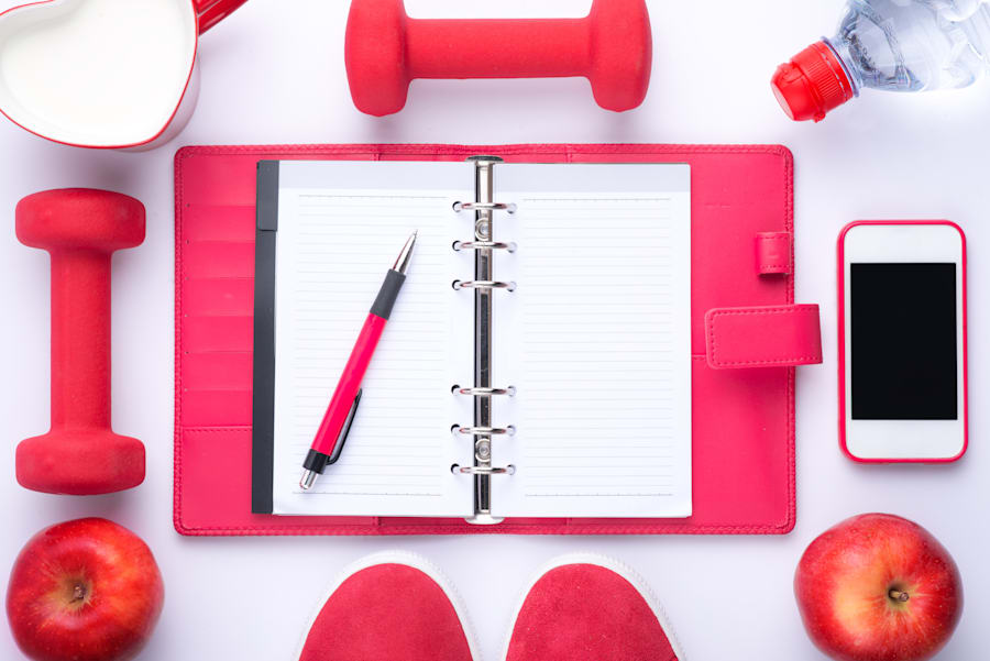 Writing your goals down on paper can