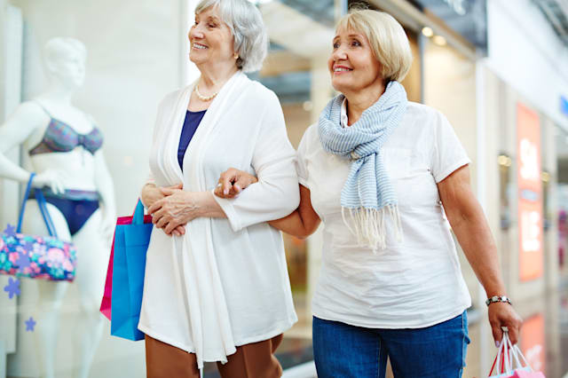 Baby boomers drive spending