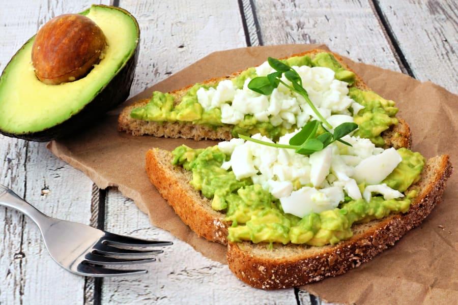 Avocado toast is the