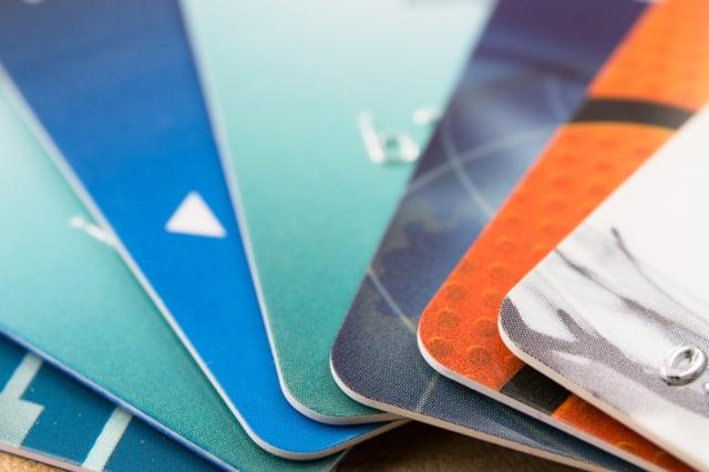 Credit card hotspots
