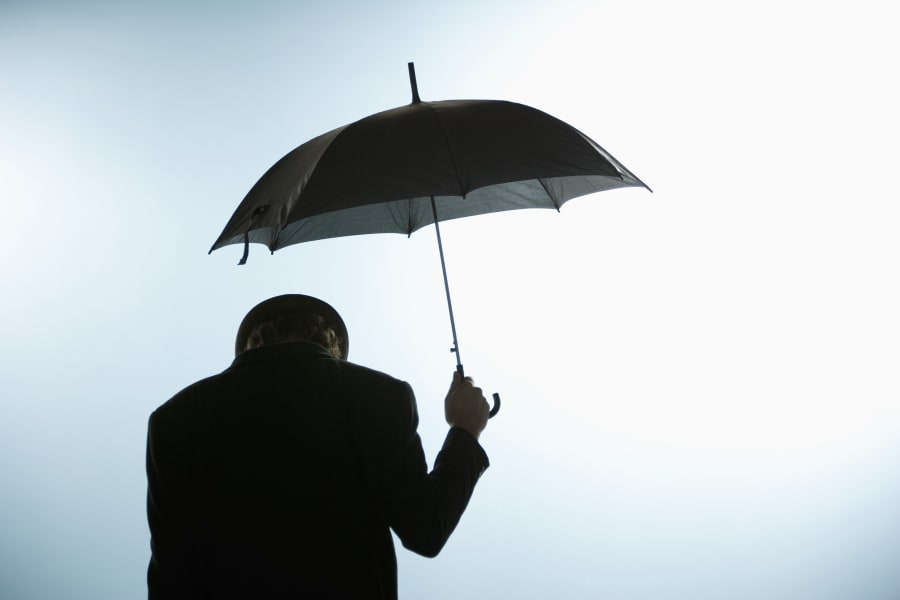 What happens if you open an umbrella inside? Dare you to try and see what goes