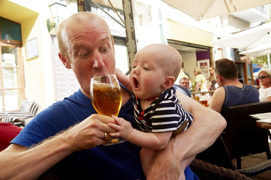 Some babies want alcohol even when they're not