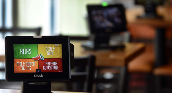 Chili's restaurants have installed Ziosk tablet computers at the tables in 31 Colorado restaurants, including the Chili's at 950