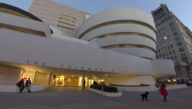 Solomon R Guggenheim Musuem, NYC