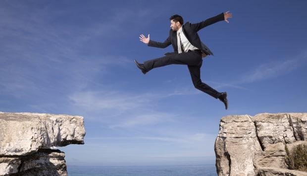 Businessman tenacity