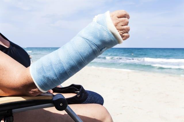 Medical: Unlucky break