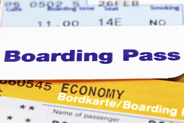 This is why you should post a picture of your boarding pass online