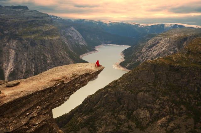 Australian woman dies after 300-metre cliff fall in Norway